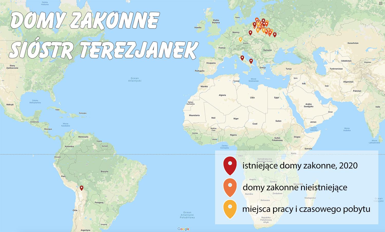 Domy-zakonne-sióstr-Terezjanek-mapa-z-legendą