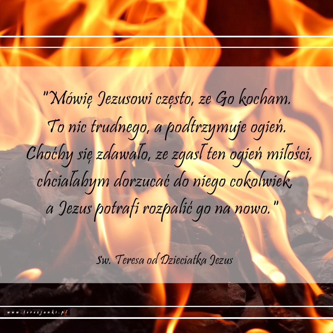 teresa_mówię Jezusowi często